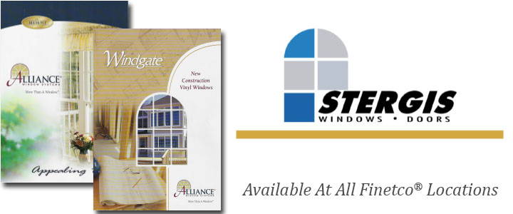 Stergis Windows and Doors Are A  Best In Class product at Waterford Building Supply