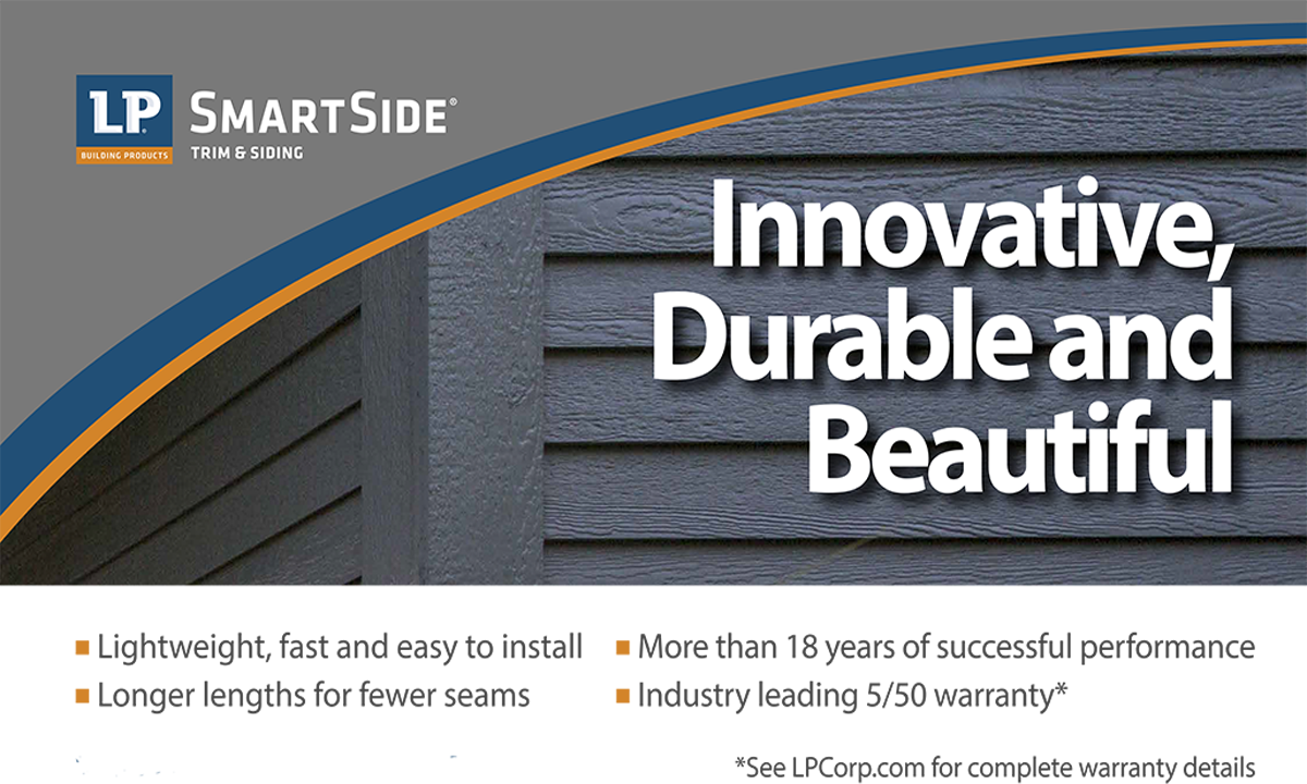 LP Smartside Trim & Siding Is A Best In Class Product At E.L. Morse Lumber